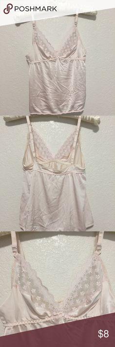 Vintage sleep shirt Tiny light pink cami Intimates & Sleepwear Chemises & Slips