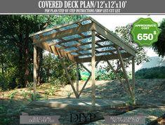 Pergola Patio, Pergola Plans, Gazebo, Backyard, Covered Patio Plans, Covered Decks, Picnic Table Plans, Folding Picnic Table, Wood Deck Plans