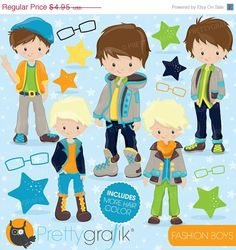 Hey, I found this really awesome Etsy listing at https://www.etsy.com/listing/215671495/80-off-sale-fashion-boys-clipart