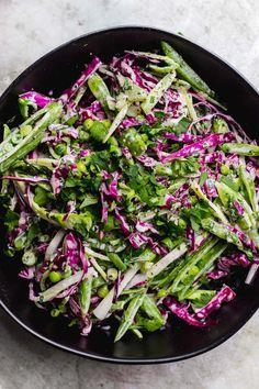 Broccoli Stem Slaw w