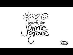 Jamie Grace - Beautiful Day (Lyric Video) This song is so fantastically beautiful (pun intended)... I've literally had it on repeat since I got home and unpacked my laptop. :D
