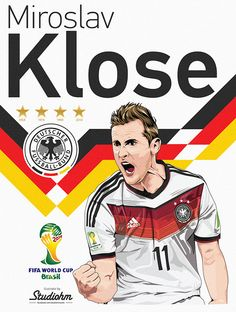"Miroslav Klose ""Germany 2014"" on Behance"