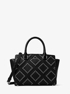 cc22affd1569 Slide1 Leather Satchel, Calf Leather, Michael Kors Bag, Timeless Fashion, Michael  Kors