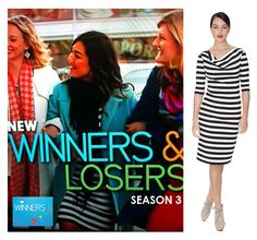 Did anyone else spot the very stunning Melanie Vallejo (aka Sophie) wearing the LB Striped dress in the Season 3 Channel 7 Australia Winners & Losers (Official) promo last night!!! We cant wait to see the new season, exciting times!!