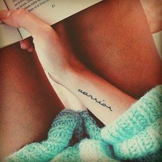 Expressive Quotes Tattoo Ideas For Women - Page 2 of 3 - Trend To Wear