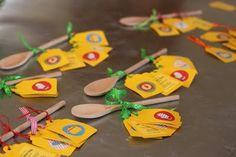handmade kids cooking invitation #uitnodiging #kookfeestje #bakkersfeestje #kinderfeestje