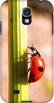 Get your ladybug Samsung Galaxy Cases coming soon.   http://www.redbubble.com/people/roxanna19/works/11879453-ladybug-by-carmencytha-2?p=samsung-galaxy-case