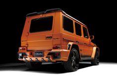 Mercedes Benz G-class W463 Sports Line Black Bison Edition