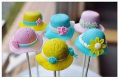 Hat Cake Pops