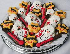 Christmas In July - Melting Snowmen