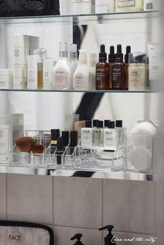 In my bathroom #ikea #godmorgon #cosmetics #organize #jurlique #facestockholm http://divaaniblogit.fi/charandthecity/2014/10/26/face-stockholm-kylpyhuoneen-kaapissa-divaani-tarjous/