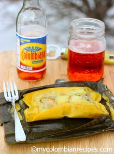 Colombian Tamales (Tamales Colombianos)  mycolombianrecipes.com