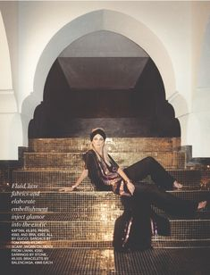 Editorial : Angela Lindvall by Tom Craig for Porter Magazine