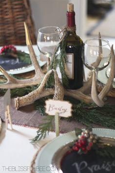 Hometalk :: A Rustic Christmas Tablescape