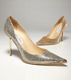 Jimmy Choo sparkle shoe