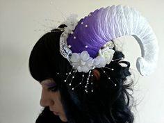 Purple Lace Ram Horns