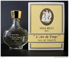 Nina Ricci L'Air du Temps... another favourite! Frm bd: Perfume...