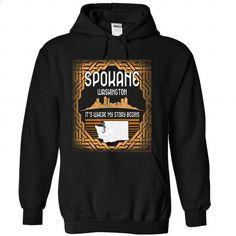 New Design - Spokane - Washington SB7 - #hoodies for women #custom dress shirts. I WANT THIS => https://www.sunfrog.com/LifeStyle/New-Design--Spokane--Washington-SB7-Black-Hoodie.html?60505