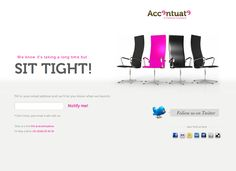 """25 Beautiful Examples of """"Coming Soon"""" Pages - via http://bit.ly/epinner"""