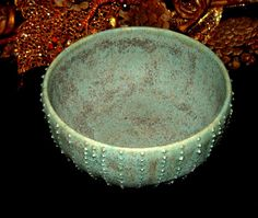 Turquoise Sea Urchin Bowl