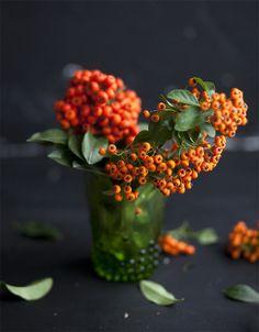 ♆ Blissful Bouquets ♆ gorgeous wedding bouquets, flower arrangements & floral centerpieces - fall bittersweet bouquet