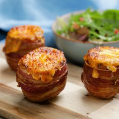 These cheese-stuffed cheese potatoes are everything you want in a savoury snack!