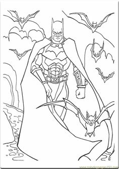 All Batman Beyond Colouring Pages
