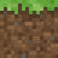 Minecraft grass/dirt brick (use as BINGO background)  http://societyandreligion.com/minecraft/wp-content/uploads/2012/04/Dirt-with-grass_2062607.jpg