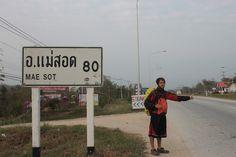 A 80 Km de Mae Sot