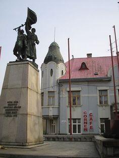 Soviet Statue in Trnava, Slovakia