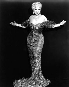 Happy birthday, Mae West!  Born August 17th.
