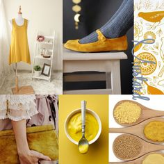 #fashion and mustard coloured
