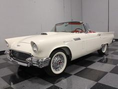 Ford : Thunderbird EXTREMELY RARE, REAL-DEAL E-CODE, DUAL-CARB 312, HIGHLY ACCURATE SHOW RESTO!