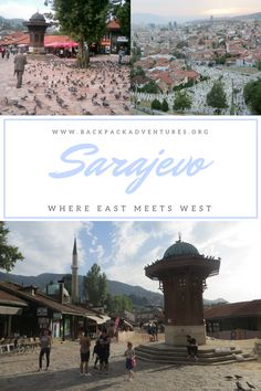 Bosnia - A blog post and city guide to the best things to do in Sarajevo, the capital of Bosnia Herzegovina. Including Bosnian food tips.
