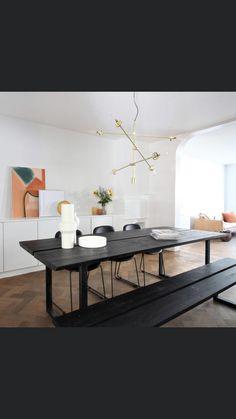 Dining Bench, Interior Design, Furniture, Home Decor, Nest Design, Decoration Home, Table Bench, Home Interior Design, Room Decor
