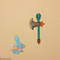 Pokemon Weapon Mudkip