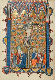 Crucifixion | Psalter-Hours | France, Amiens | between 1280 and 1299 | The Morgan Library & Museum