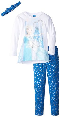 Disney Little Girls' Frozen Tunic Legging Set $20
