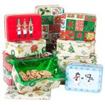 Christmas Cookie TINS- Dollar Tree  -What are the sizes? You need S,M,L.