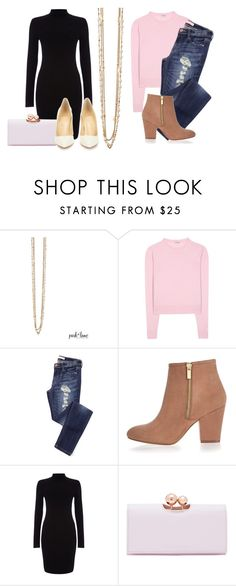 """""""Coco Rose"""" by parklanejewelry on Polyvore featuring Miu Miu, River Island, Phase Eight, Ted Baker, Christian Louboutin, women's clothing, women's fashion, women, female and woman"""