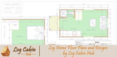 Log Home Floor Plans and Designs by Log Cabin Hub