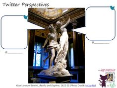 The Art Curator for Kids - Character Analysis Art Activity - Twitter Perspectives - Gian Lorenzo Bernini, Apollo and Daphne, 1622-25 (Photo Credit-Int3gr4te)