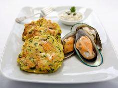 Küchlein aus Grünnlippmuscheln ist ein Rezept mit frischen Zutaten aus der Kategorie Muscheln. Probieren Sie dieses und weitere Rezepte von EAT SMARTER!