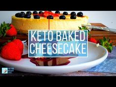 Keto Cheesecake (new york baked cheesecake) is not a complicated recipe, it's mostly waiting for the middle to cook and cool without cracking!