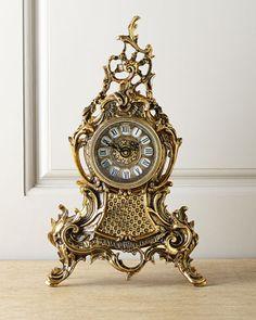 Bronze+Clock+at+Neiman+Marcus.