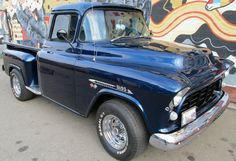 American Muscle Cars… 1955 Chevy 3100 Pickup