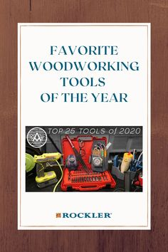 Michael Alm reviews his top 25 favorite tools of 2020. Watch his video here!  #createwithconfidence #woodworkingtools #favoritetools #top25 #almfab Woodworking Hand Tools, Woodworking Clamps, Woodworking Projects Diy, Woodworking Videos, Woodworking Tools, Workshop Organization, Power Tools, Top Rated, Safety