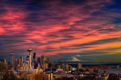 Carlos Maxwell Fine Art Photo. Seattle a few days ago. Yes, it really looks like this here.