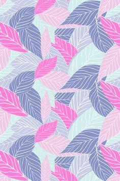 Lovely leaves pattern