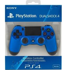 DualShock 4 Wireless Controller Wave Blue [PlayStation 4 Accessory]